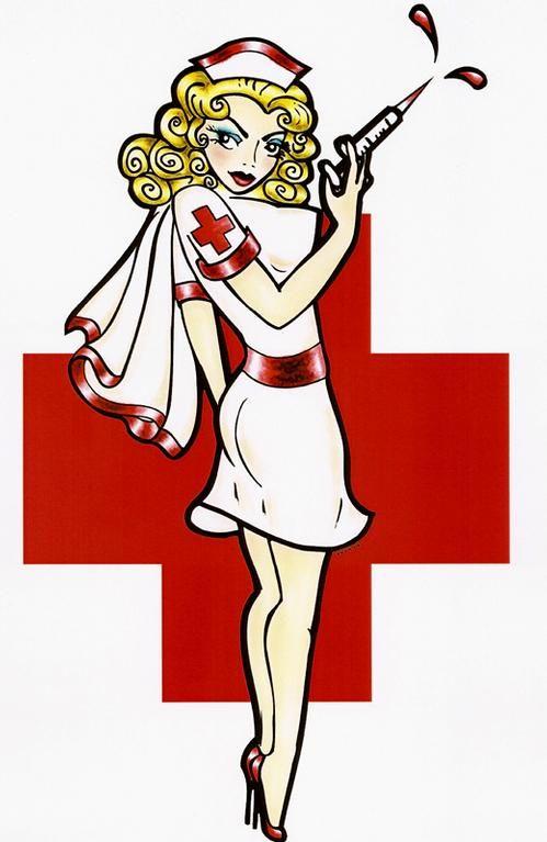 Картинка с медсестрой смешная