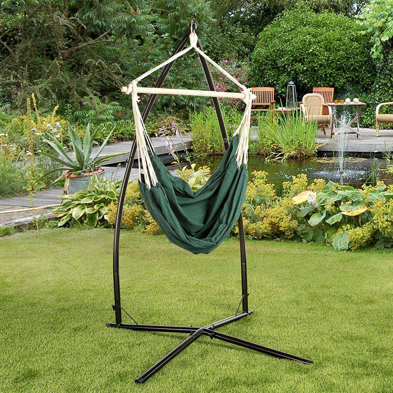 Hängesessel mit Querstrebe Hängestuhl aus der Bali-Serie  Stuhl zum Aufhängen