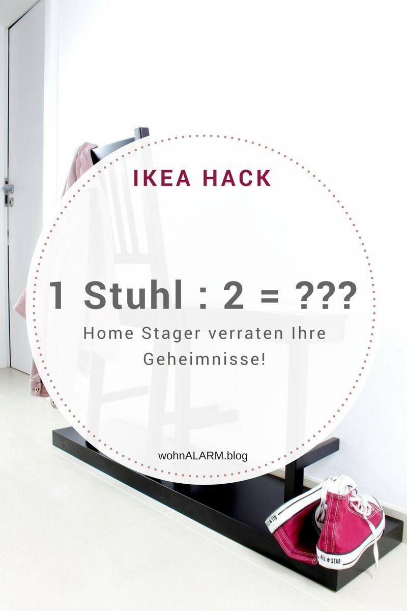 Geheimtipp! 3 Garderoben, die Home Stager benutzen! | Holzstühle ...