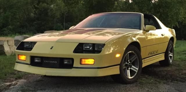 1985 Chevrolet Camaro Z28 Iroc Z T Top Tpi Coupe For Sale Photos