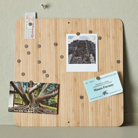 magnetic bamboo board
