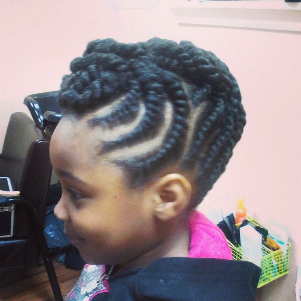 Artistic Rootz Double Strand Twists Updo On Natural Hair