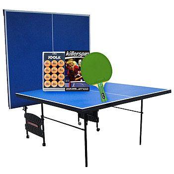 Surprising Sportspower Ping Pong Table With Racket Ball Set Bundle Home Remodeling Inspirations Propsscottssportslandcom