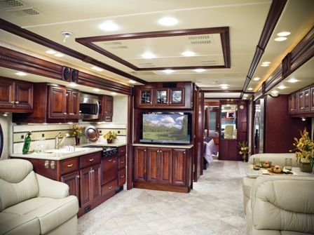 Luxurious Motorhomes Interior | 2010 Newmar King Aire 4566 Luxury Motorhome  Interior Front To Back ... | CAMPING..... | Pinterest | Motorhome Interior  ...
