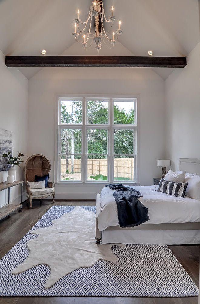 7 Inexpensive Ways to Rejuvenate Your Master Bedroom #vaultedceilingdecor