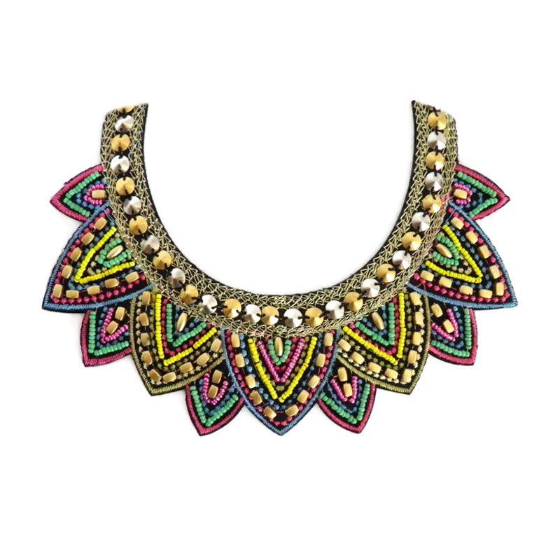 collar babero - Buscar con Google | Handmade Jewerly | Pinterest ...