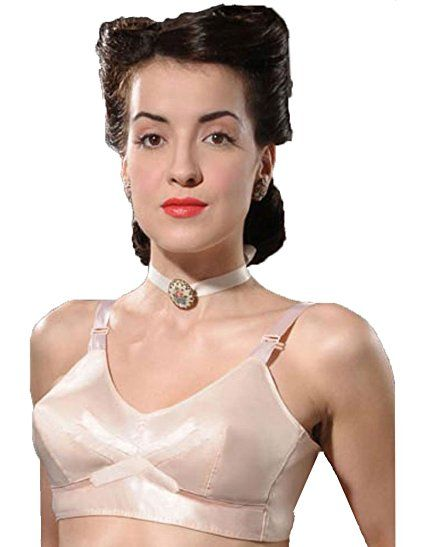 Image result for What Katie Did 1940s vintage peach bullet bra