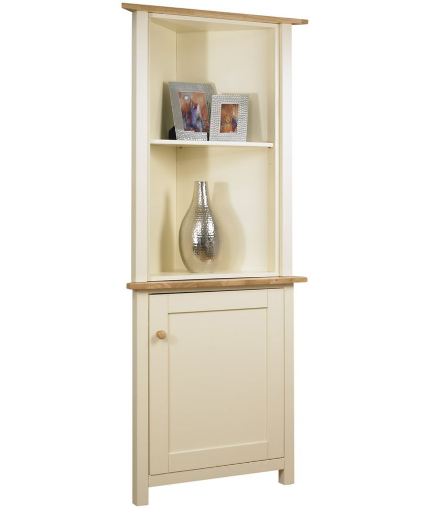 Kitchen Shelf Argos: Buy Lancaster Corner Display Cabinet Top