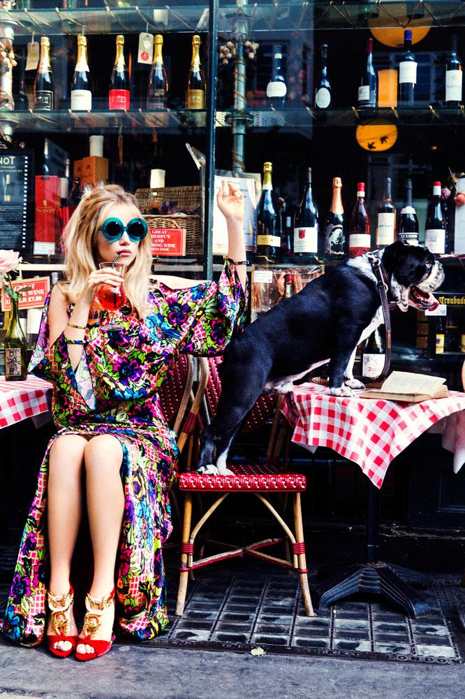 Suki Waterhouse for Vogue Russia, November 2014