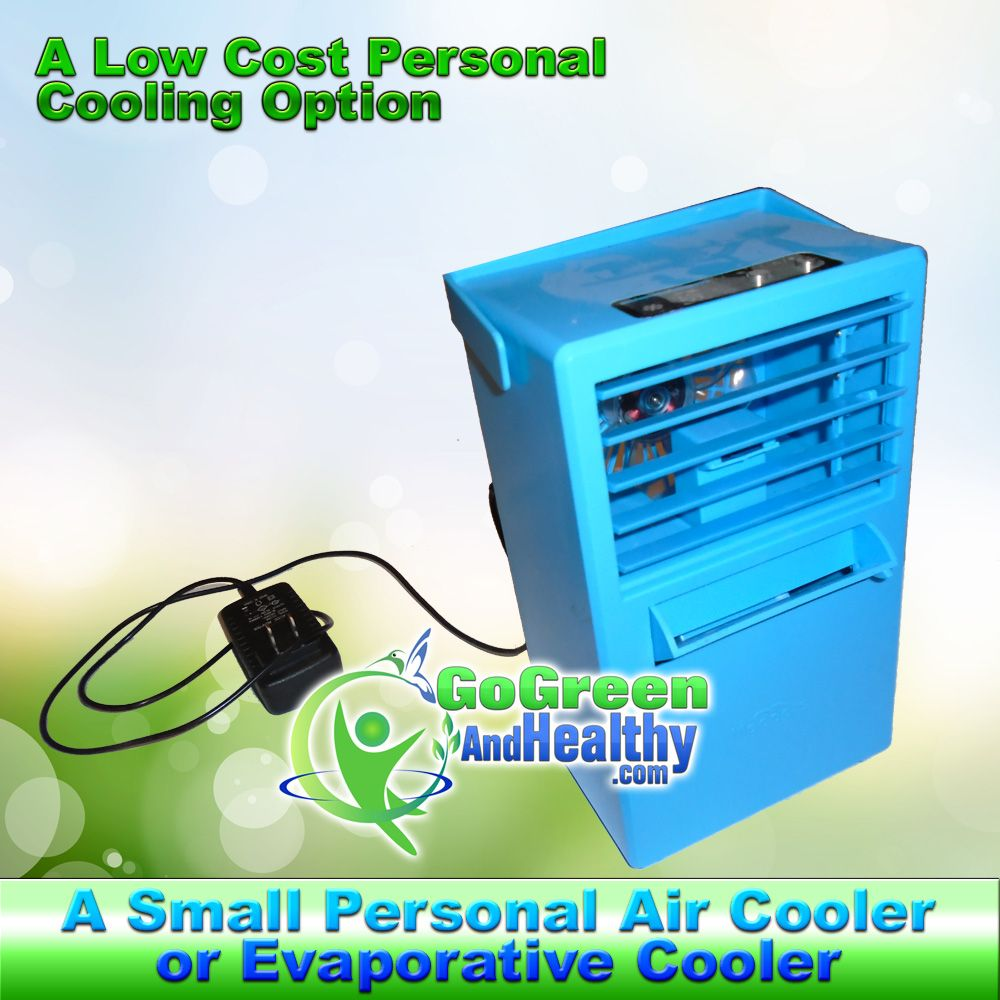 Alternative to AC The Ice Fan Air Conditioner or Ice Fan