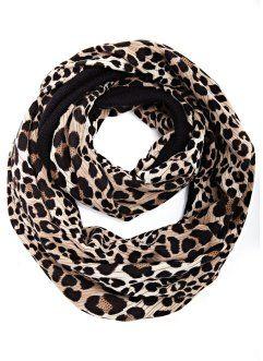 Strick-Loop Animal, bpc bonprix collection, leopard schwarz/hellbraun