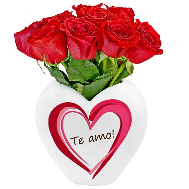 Te Amo Com Imagens Rosas Buque De Rosas Amor