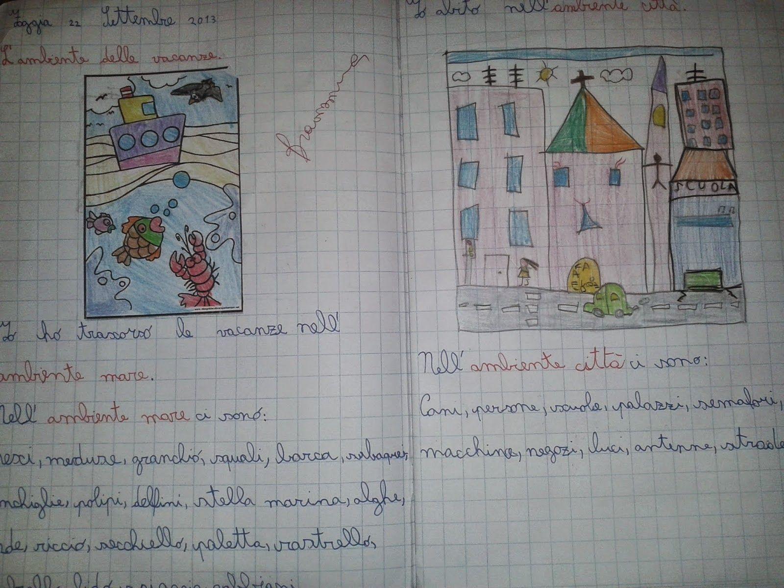 LA MAESTRA MARIA TI SALUTA: Quaderno Di Geografia Classe 2