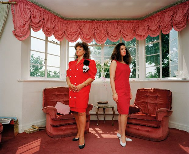 Martin Parr - examines British identity and culture through his images, often looking at peoples homes or how they spend their time