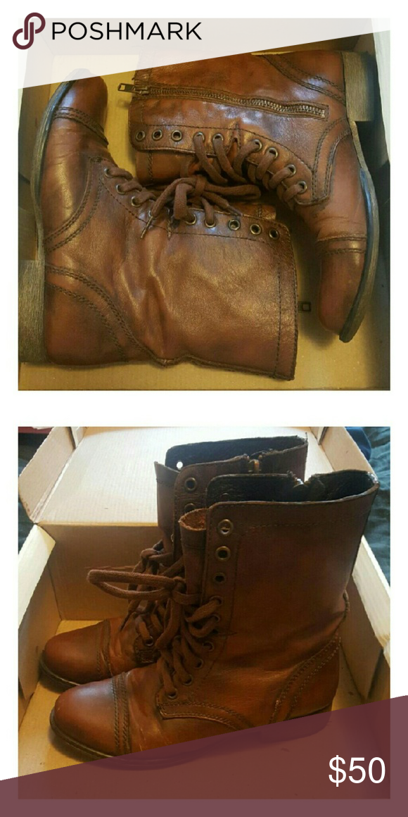 605b9428430 SM Troopa Boots Troopa combat boots by Steve Madden. Used a couple ...