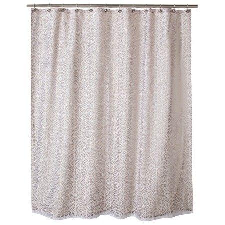 ThresholdTM Geometric Burnout Shower Curtain