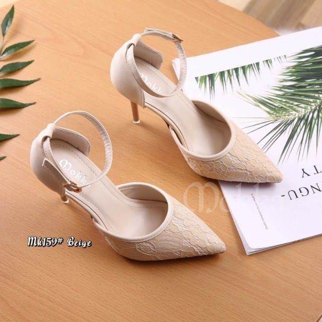 Model Sepatu Cewe 2018 Terbaru Mokka High Heels 159  fc471b8408