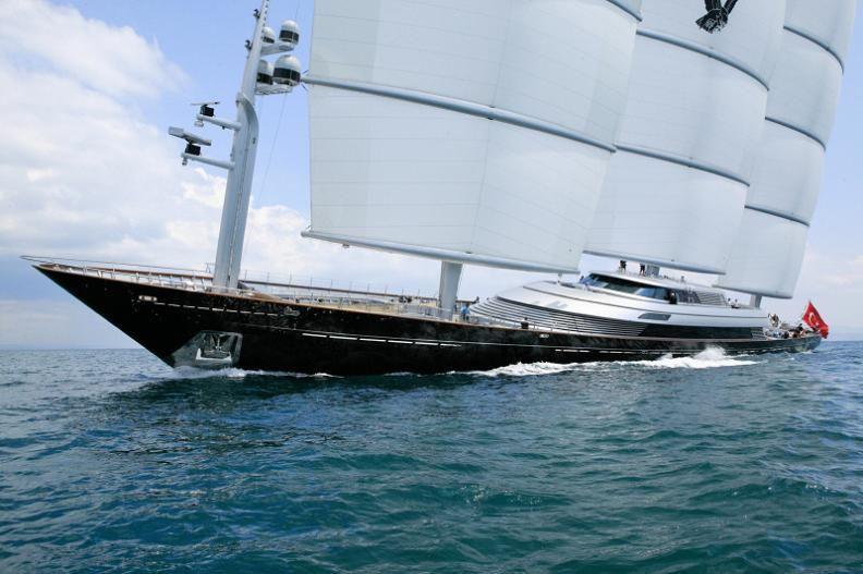 Maltese Falcon Third Largest Sailing Yacht In The World Veleros