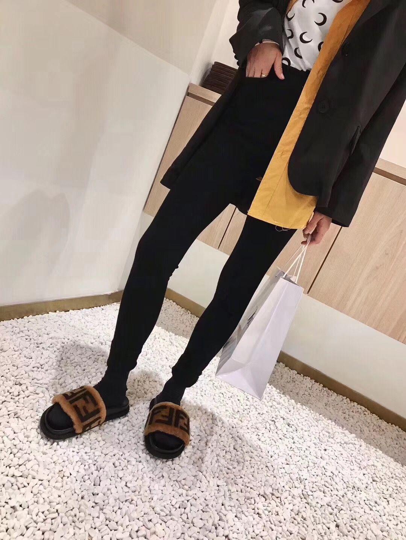 fendi female slippers