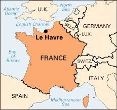 Map Of France Le Havre.Le Havre French Nice France Bordeaux France France Map