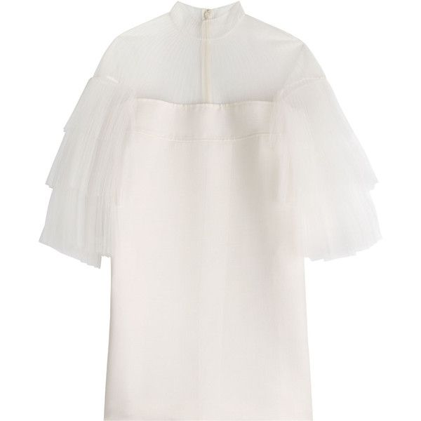 Valentino Virgin Wool Dress (18.480 BRL) ❤ liked on Polyvore ...