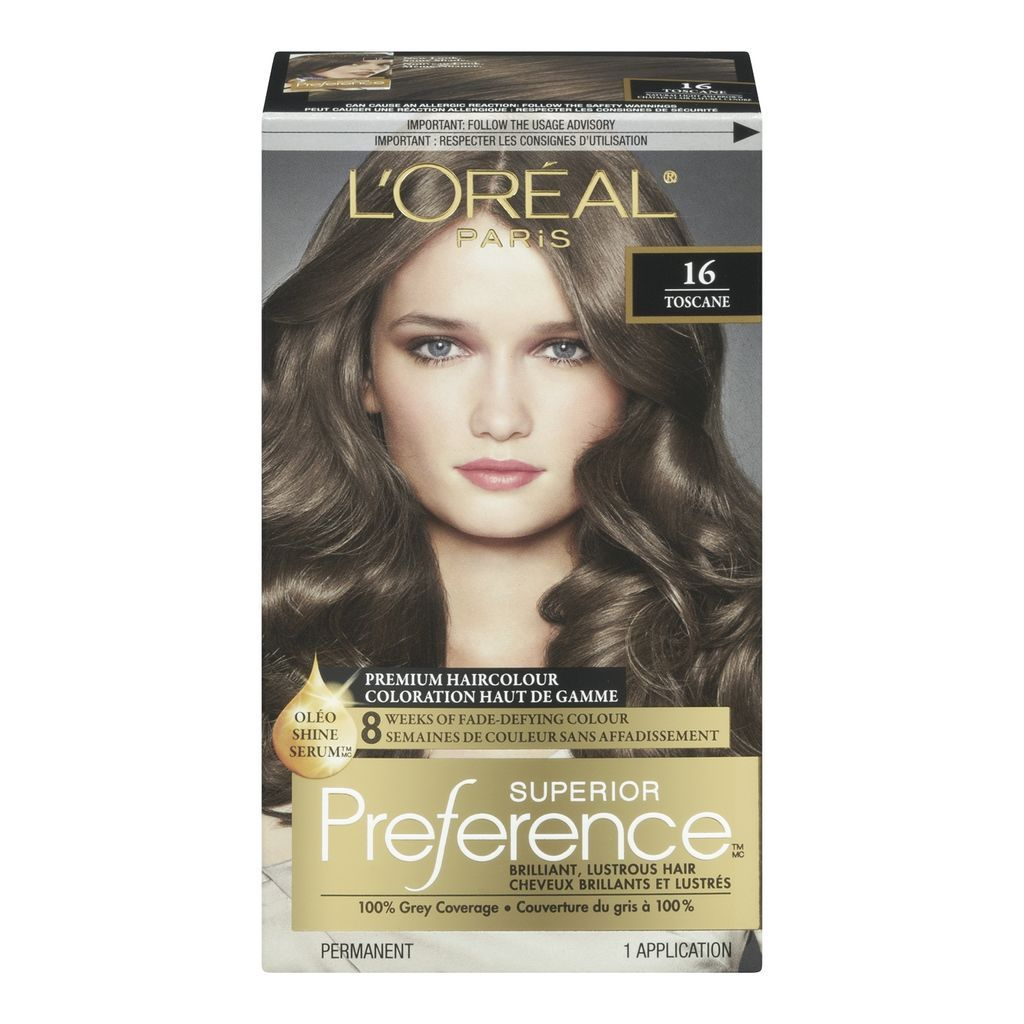 Buy Preference Natural Light Ash Brown 16 Hair Colour From Value