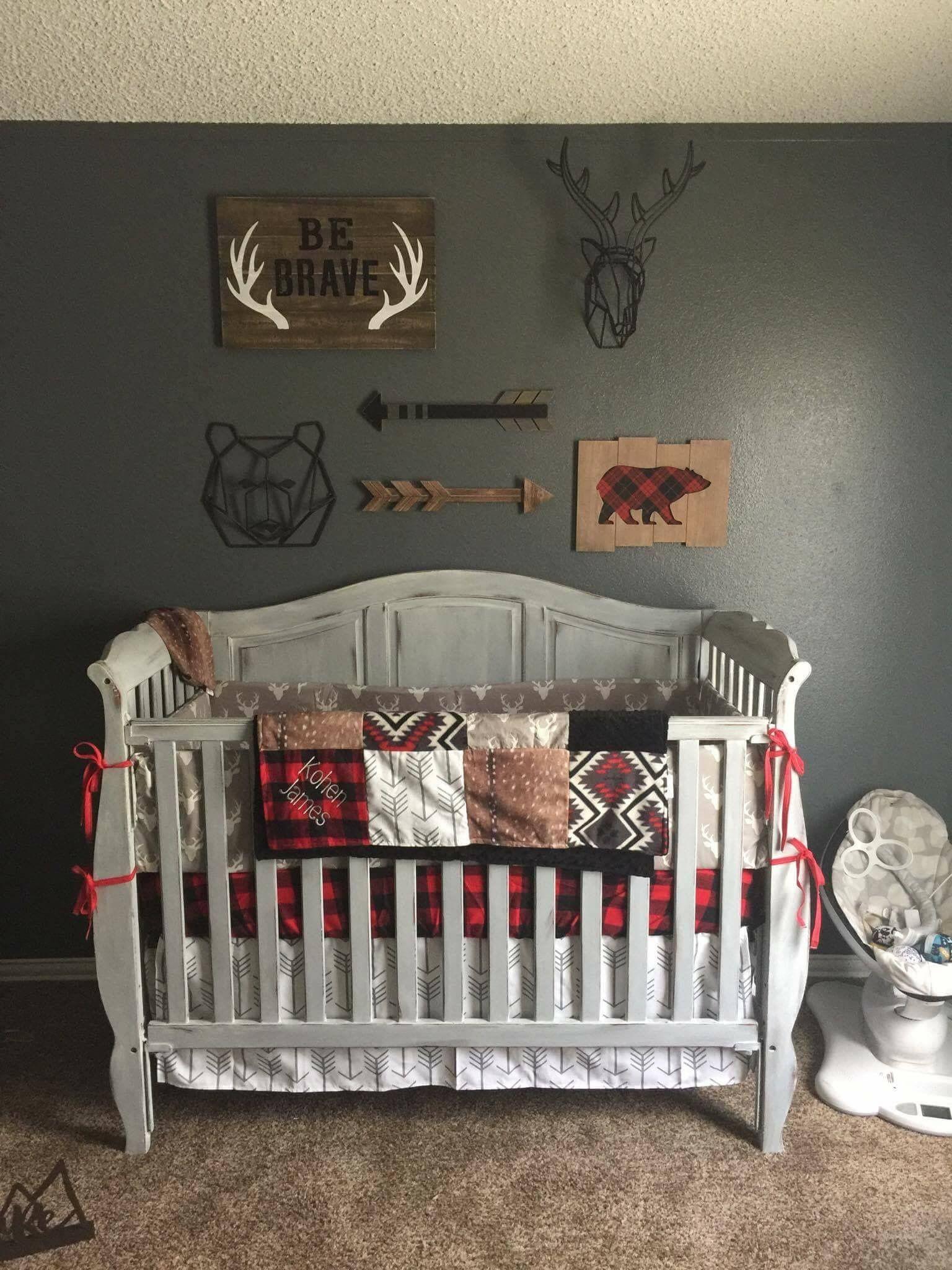20 Latest Trend Of Cute Baby Boy Room Ideas Crib Bedding Boy