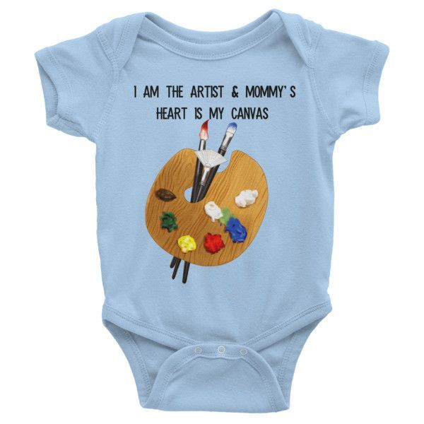 Baby Artist - Infant short sleeve one-piece
