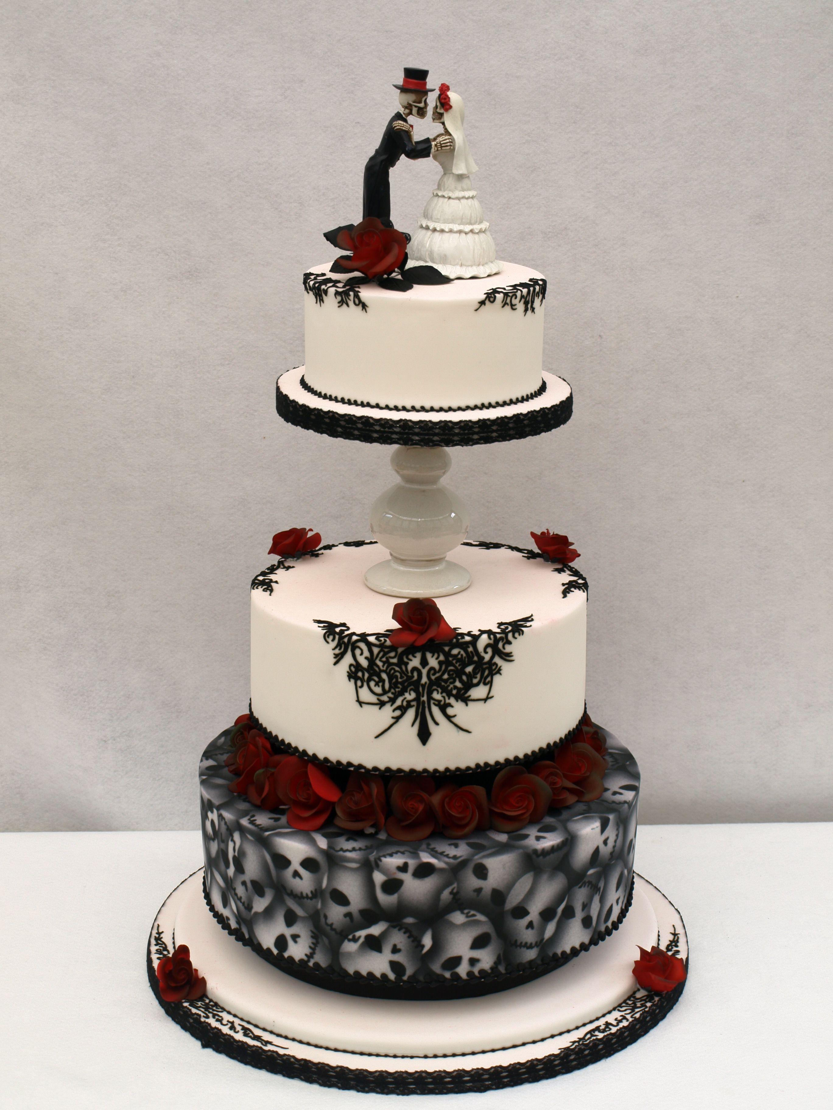 Gothic Wedding Cake Halloween Wedding Cakes Gothic Wedding Cake