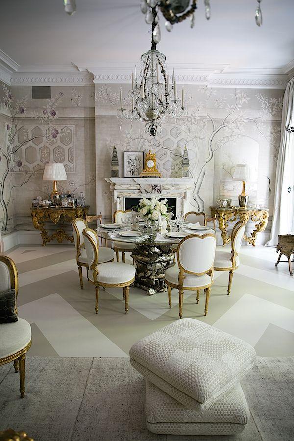 Alex Papachristidis Kips Bay Show House Dining Room