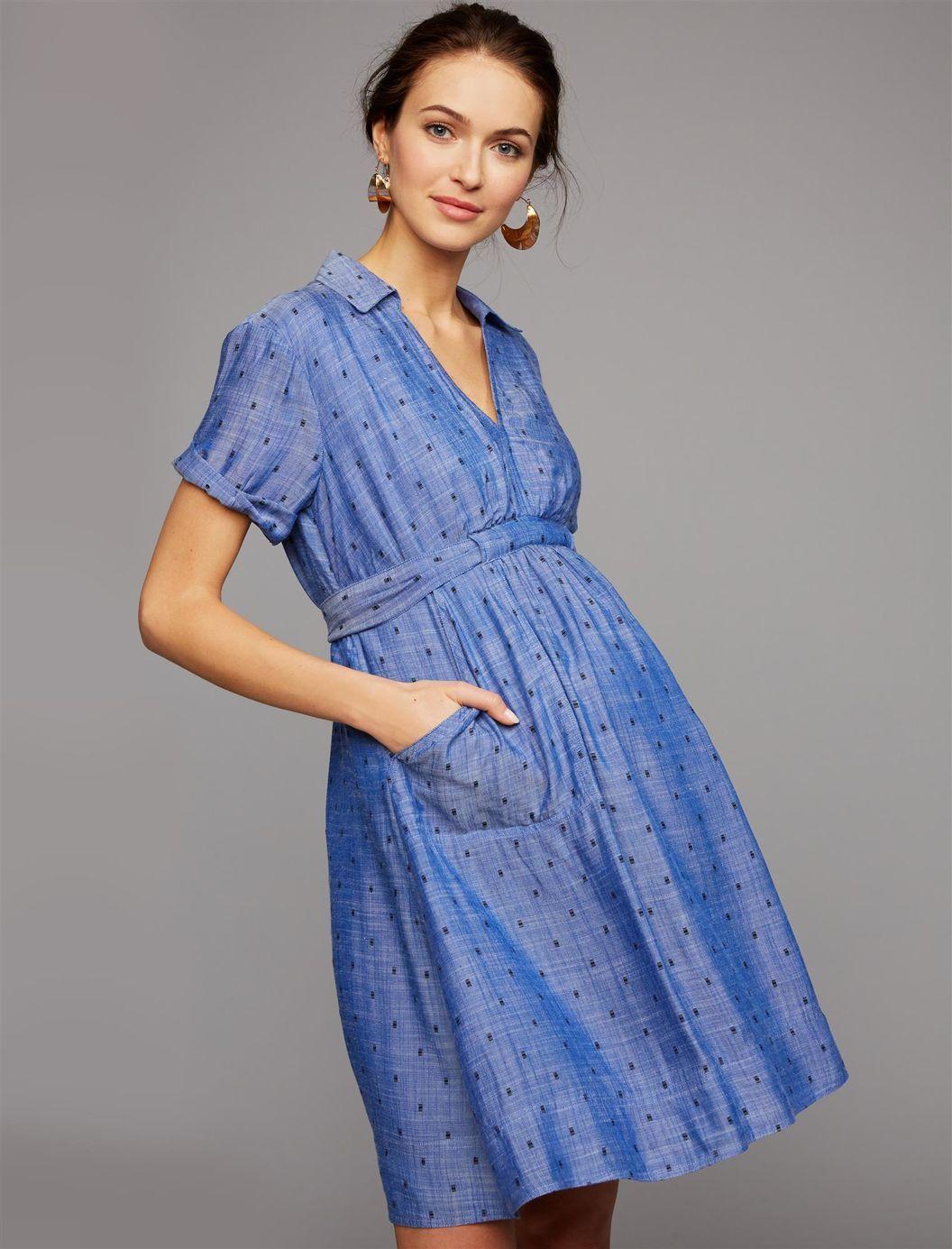 8740cfeec4fe8 Tie Detail Maternity Dress | Maternity Capsule | Maternity dresses ...