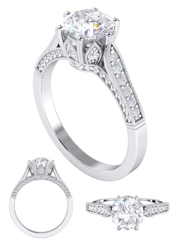Diamond engagement ring | Jewelry | Diamond engagement rings