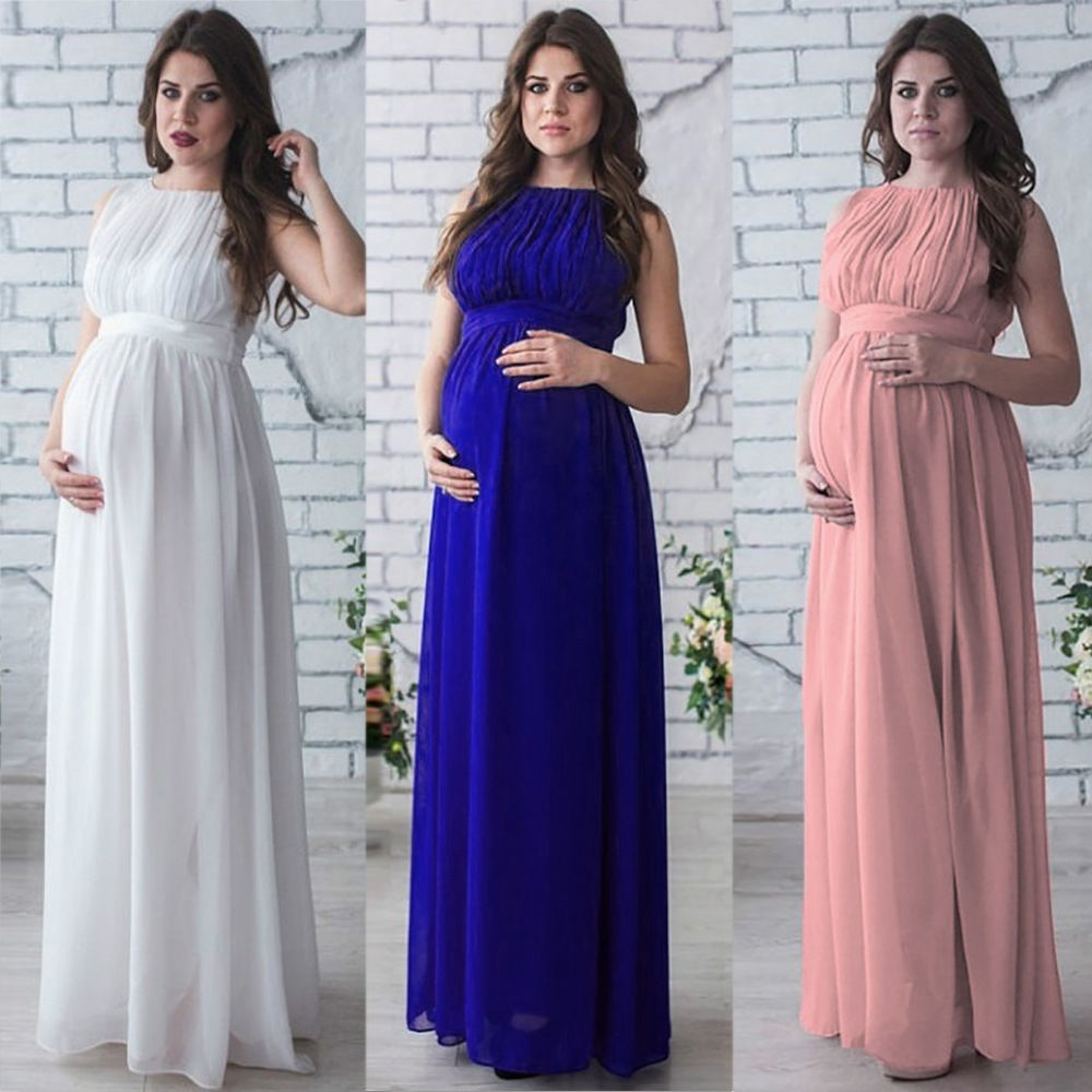 Maternity dress pregnancy clothes pregnant women lady elegant