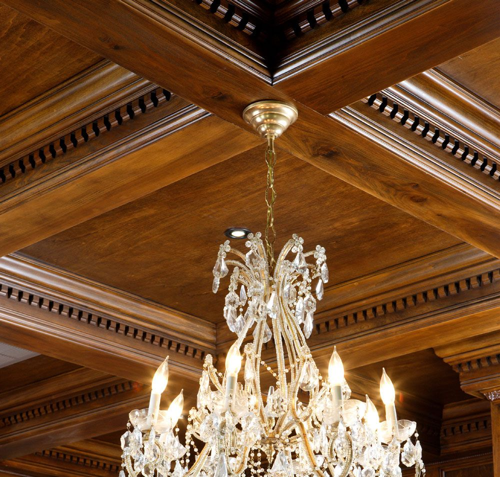 Coffered ceiling design trim ideals pinterest coffer for Foam coffered ceiling