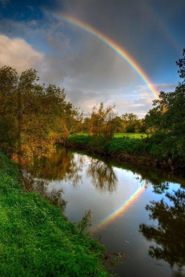 Rainbow Reflection