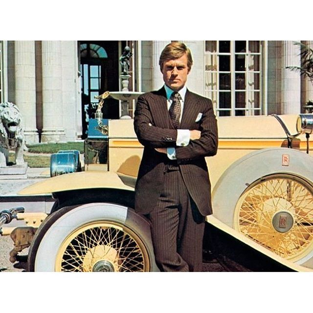 "Robert Redford ""Great Gatsby"""