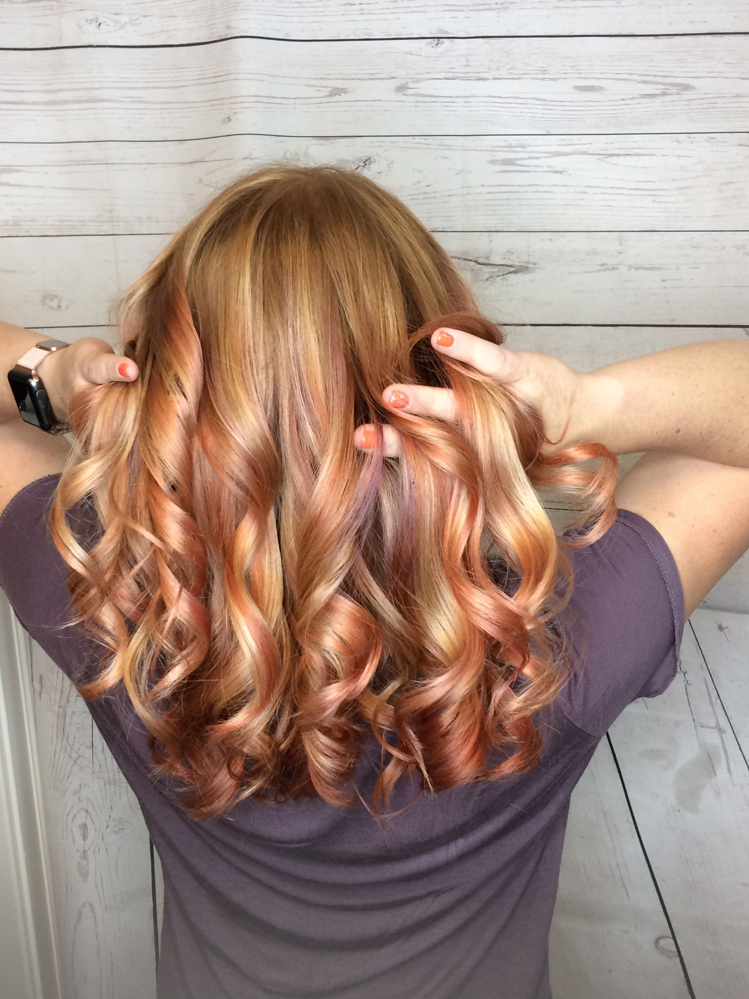 Subtle Springtime Colors Long Hair Styles Hair Salon Hair Styles