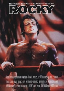 Rocky 1 Online Latino 1976 Vk Peliculas Audio Latino Sylvester Stallone Movie Posters Talia Shire