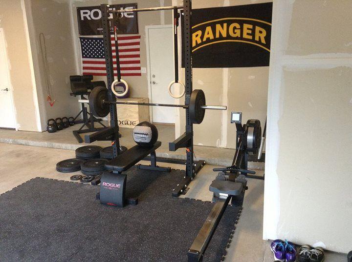 Rogue fitness gym pinterest garage