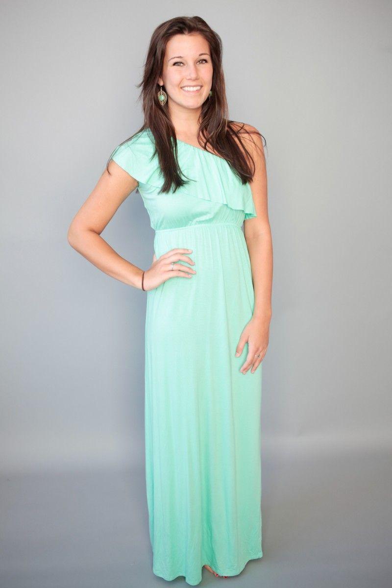 Mediterranean Maxi Dress-Mint | Clothes & Accessories | Pinterest ...
