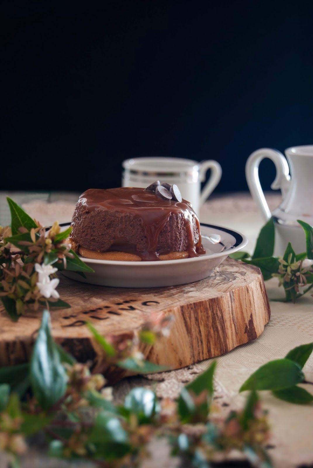 La asaltante de dulces: Receta de falsos flanes de chocolate, galleta y caramelo/ No bake chocolate,cookies & caramel little cakes