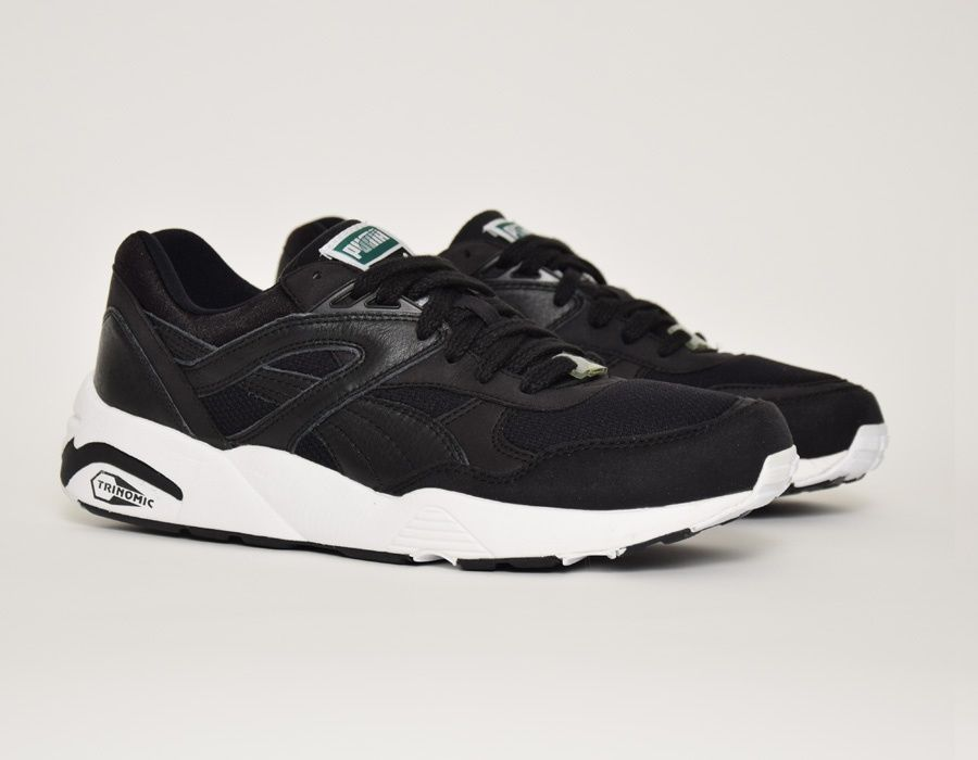 Puma Trinomic R698 Black White  sneakers  34ac0eef6