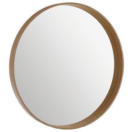 Miroir ivan habitat d co ambiance pinterest miroir miroir rond et miroir rond bois for Miroir habitat