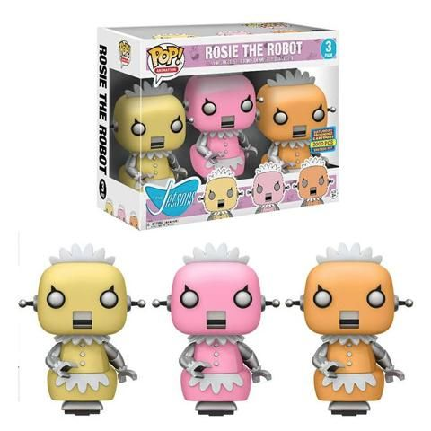POP! Animation - The Jetsons - Rosie The Robot 3 Pack