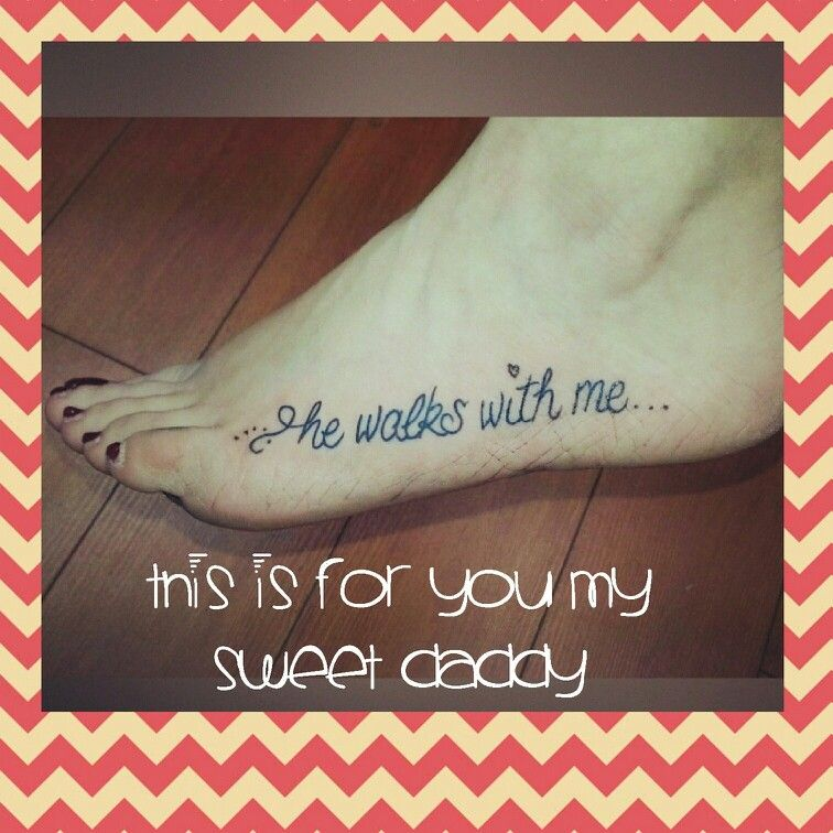 My New Tattoo In Memory Of My Daddy!