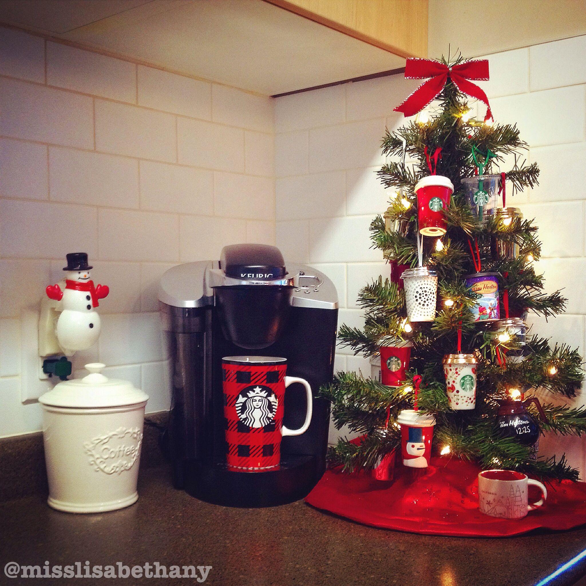 Coffee Christmas Tree Christmas ChristmasTree Starbucks