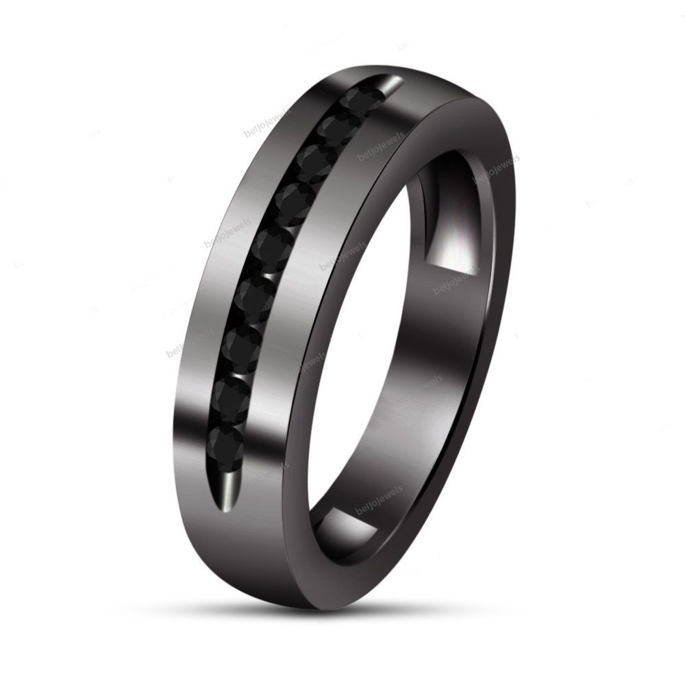 band edge ip guarantee tungsten wedding rings women for en brushed lifetime bands beveled comfort men mens fit ring