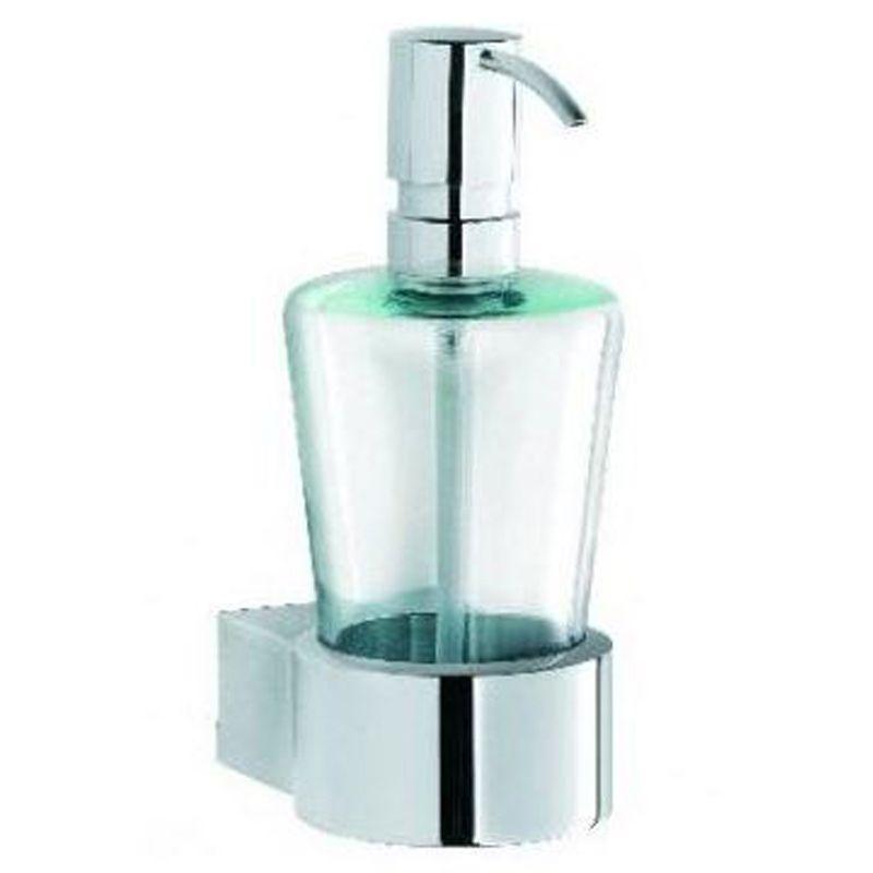 Kludi Joop Flussigseifenspender 5597605h7 Behalter Aus Kristallglas Chrom Grune Glas Behalter Aus Krist Seifenspender Grunes Glas Badezimmerarmatur
