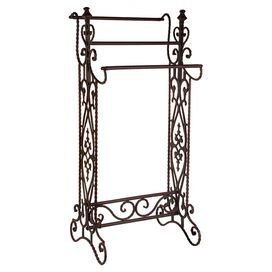Iron Quilt Rack With Openwork Detail Product Quilt