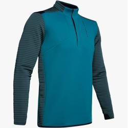 Photo of Under Armour Herren-Shirt Ua Tips Daytona mit ½-Zip Grün Lg Under Armour